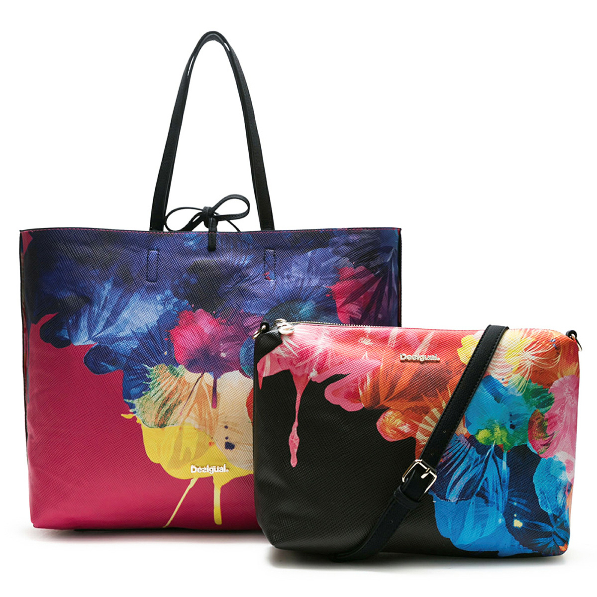 Desigual 3 in 1 Wendetasche Shopper Bols Corel Seattle 18SAXP46/2000
