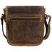 Greenburry Vintage Leder Jagdtasche Satteltasche Umhängetasche 1630-25 005