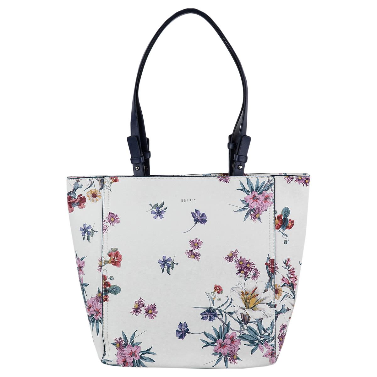 Esprit Fay Shopper Handtasche Schultertasche Henkeltasche 068EA1O023-430