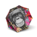 Doppler Modern Art Magic Mini Monkey Regenschirm Doppel Automatik 001