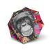 Doppler Modern Art Magic Mini Monkey Regenschirm Doppel Automatik 001