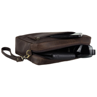 Dos Bros Hunter Leder Handgelenktasche Herrentasche DB-029-25