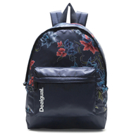 Desigual Sport Rucksack Daypack Backpach Geopatch Blue 18WQXW23/5189