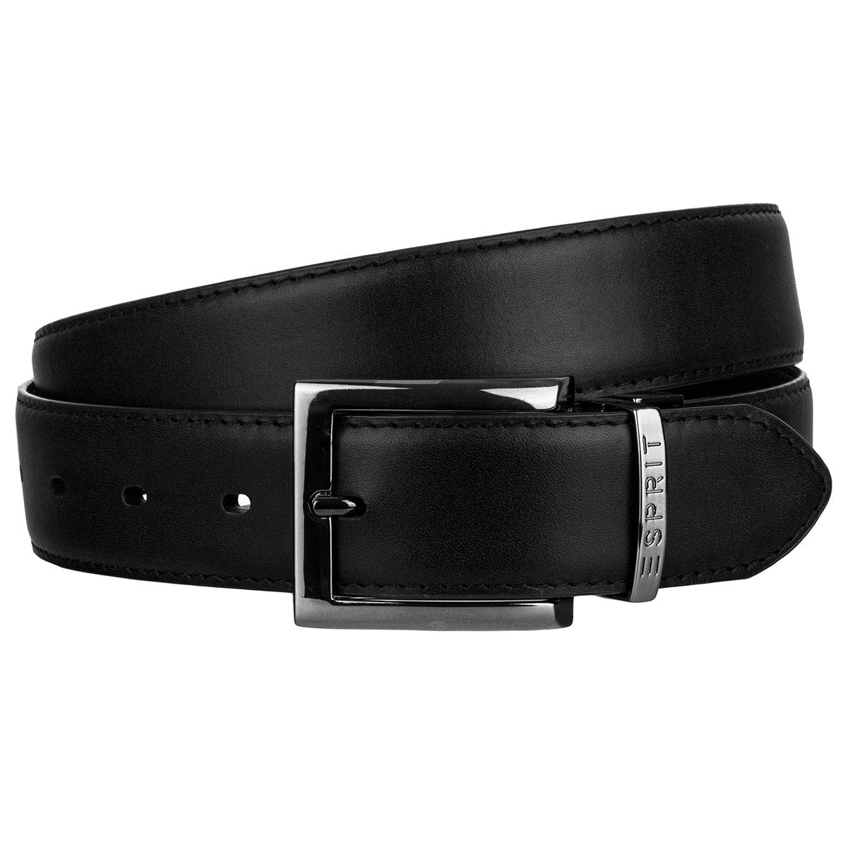 Esprit Leder Gürtel mit Dornschließe Flip Reverse Belt 058EA2S001-001