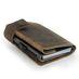SecWal RFID Leder Kartenetui mit Münzfach Geldbörse Portemonnaie SW2 006