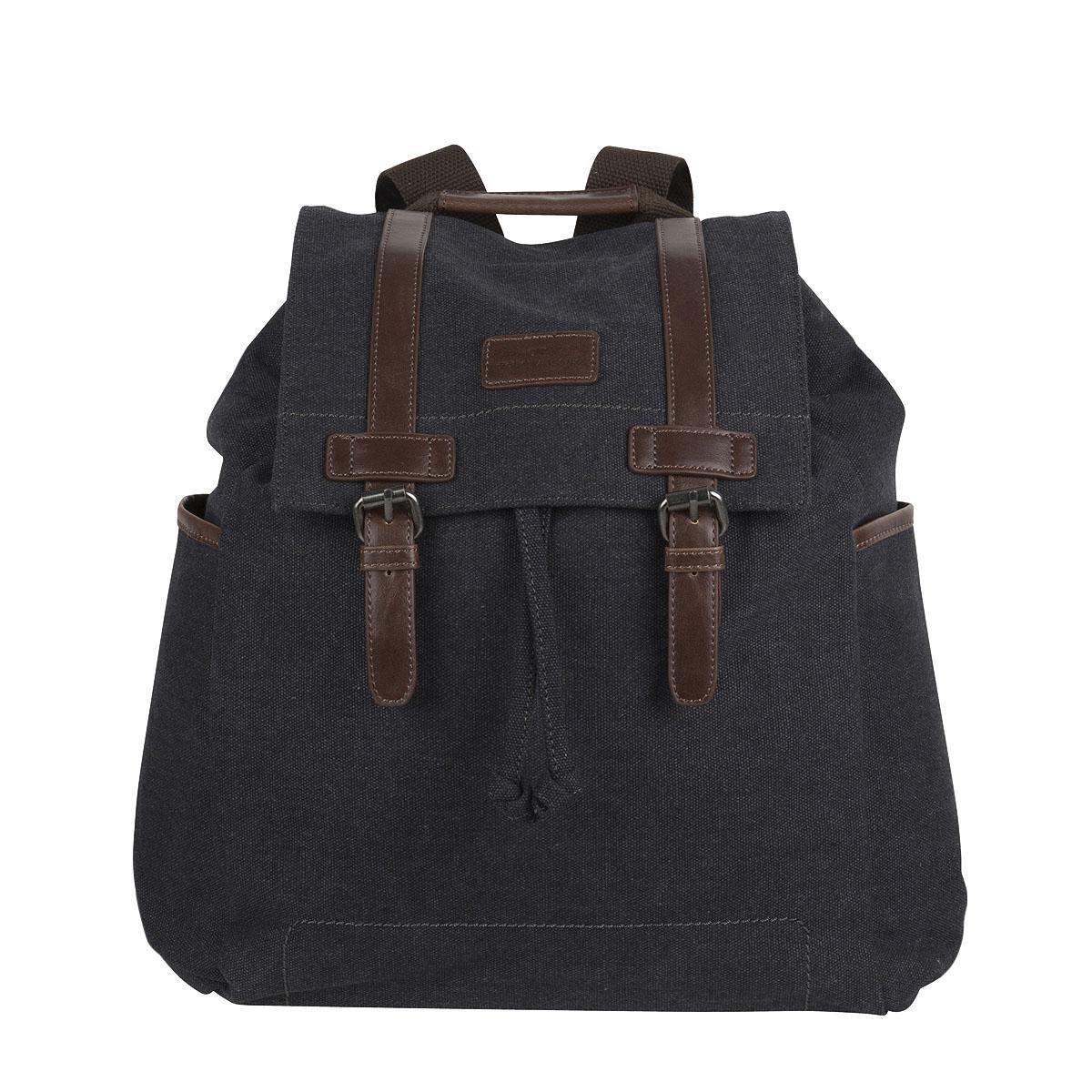 Tom Tailor Canvas Backpack City Rucksack Daypack 19053