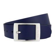 Esprit Damen Leder Gürtel blau Xoctavia mit Dornschließe 118EA1S011-400