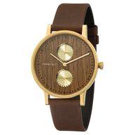 Kerbholz Clara Shining Wood Damen Uhr Armbanduhr 4251240405513
