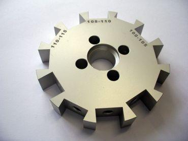 Messerscheibe Typ 1 KD-KK 100-115