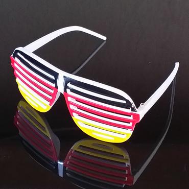 Brille Atzenbrille Fussball WM 2018 Russland Fanartikel Fan Party Sonnenbrille – Bild 1