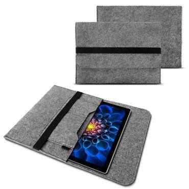 Microsoft Surface Pro 6  4 Tasche Hülle Grau Filz Sleeve Case Schutzhülle Tablet – Bild 1