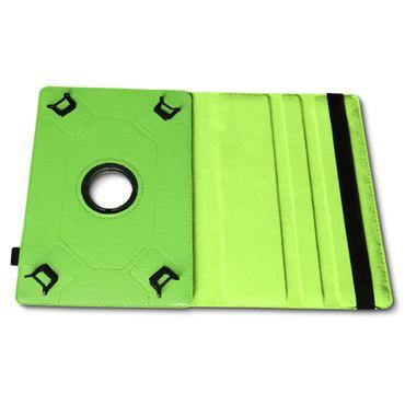 Tablet Tasche 9.7 - 10.1 Zoll Hülle Grün Case Schutz Cover 360 Drehbar Universal – Bild 7