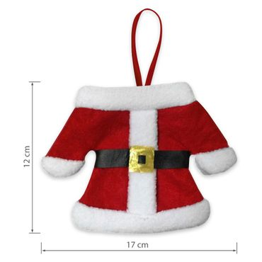 Besteckhalter Besteckbeutel Bestecktasche Serviettentasche Weihnachten 6er Set – Bild 6