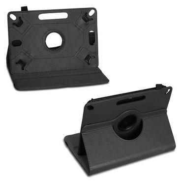 Schutzhülle 10 - 10.1 Zoll Hülle Tablet Tasche Schwarz Case Cover 360 Drehbar – Bild 4