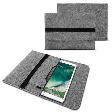 Apple iPad 4 3 2 iPad Air 2 Pro 2017 Pro 10.5 Filz Tasche Hülle Schutzhülle Case – Bild 2