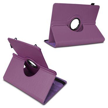 NAUC Schutz Tasche für Medion Lifetab S7866 Hülle Tablet Schutzhülle Case Lila – Bild 4