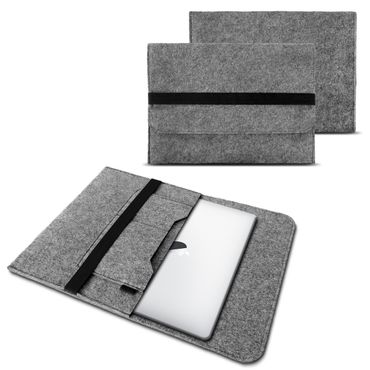 Apple Macbook Air Hülle Tasche Laptop Cover Sleeve Filz 13,3 Case Schutzhülle – Bild 2