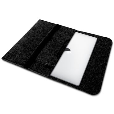 Apple Macbook Air Hülle Tasche Laptop Cover Sleeve Filz 13,3 Case Schutzhülle – Bild 10