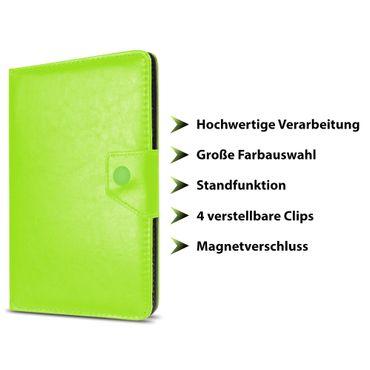 NAUC® Tablet Schutzhülle für Vodafone Tab Prime 6 / 7 Kunstleder Tasche Hülle Standfunktion in verschiedenen Farben Universal Cover Case  – Bild 19