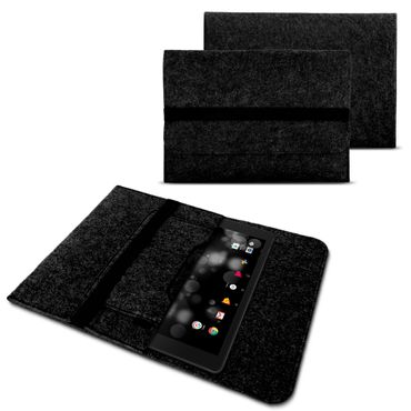 Acer Iconia Tab 10 - One 10 Tablet Tasche Hülle Schutzhülle Sleeve Filz Cover – Bild 8