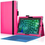 Microsoft Surface 3 Tablethülle Tasche Standfunktion Schutzhülle Cover Case Pink 001