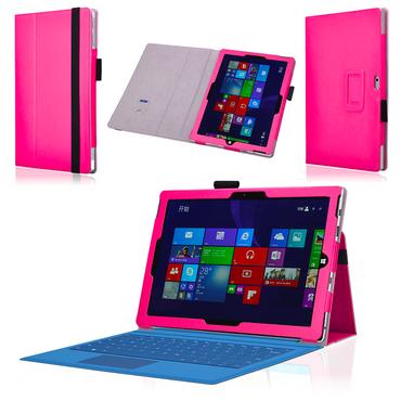 Tablet Hülle für Microsoft Surface 3 Tasche Stand Schutzhülle Case Cover Pink – Bild 1