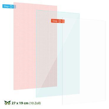 2x Schutzfolie 10 - 10.1 Zoll Tablet Displayschutzfolie Universal Display Folie – Bild 7