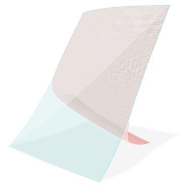 3x Schutzfolie 10 - 10.1 Zoll Tablet Displayschutzfolie Universal Display Folie – Bild 6