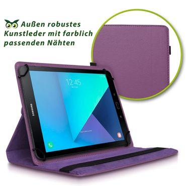 Samsung Galaxy Tab E 9.6 Tablet Hülle Tasche Schutzhülle Cover 360° Drehbar Case – Bild 21