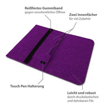 Sleeve Filz Hülle Samsung Galaxy Tab S2 S3 9.7 Tablet Tasche Schutzhülle Cover  – Bild 22