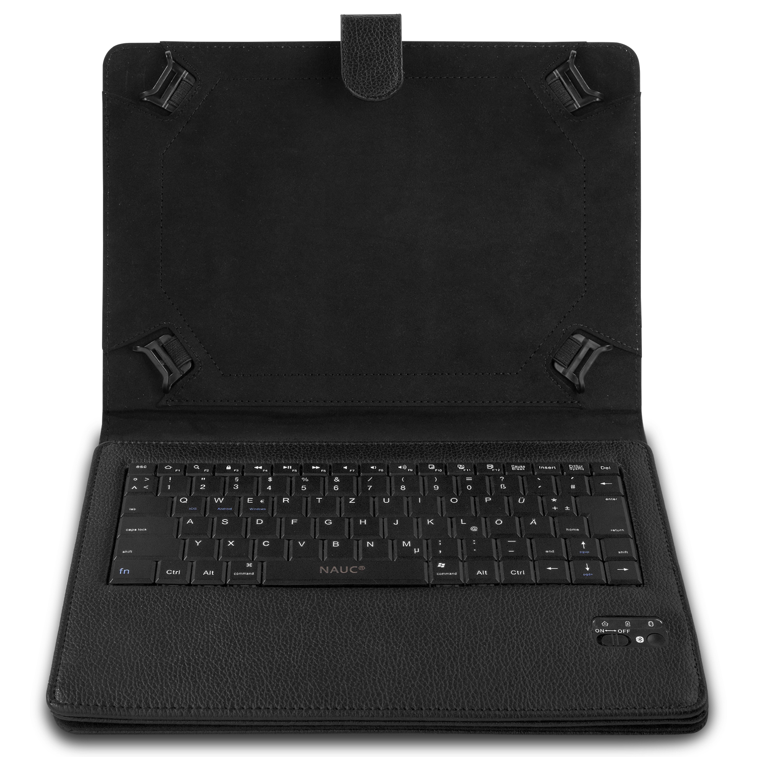 tastatur h lle bluetooth keyboard tasche samsung galaxy. Black Bedroom Furniture Sets. Home Design Ideas