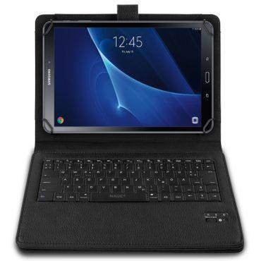Tastatur Hülle Bluetooth Keyboard Tasche Samsung Galaxy Tab A 9.7 Case QWERTZ – Bild 2