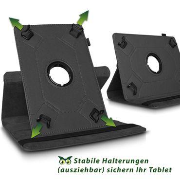 Tablet Tasche für Tolino Tab 8 Hülle Schutzhülle Cover Schutz Case 360° Drehbar – Bild 8