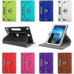 Tablet Tasche Captiva Pad 10 3G Plus Hülle Schutzhülle Cover Case 360° Drehbar 001