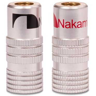 36x Bananenstecker Nakamichi vergoldet High End Bananas für Kabel bis 6mm² 24K  – Bild 9