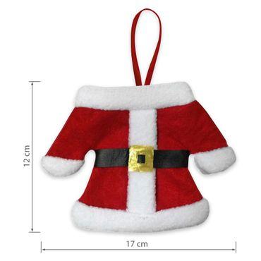 Besteckbeutel Bestecktasche Serviettentasche Besteckhalter Weihnachten 3er Set – Bild 6