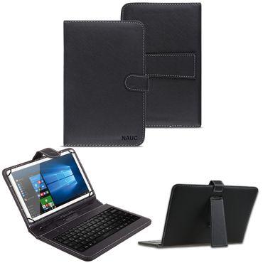 Tastatur Tasche für 10 - 10.1 Zoll Keyboard Hülle QWERTZ Case Cover Schutzhülle