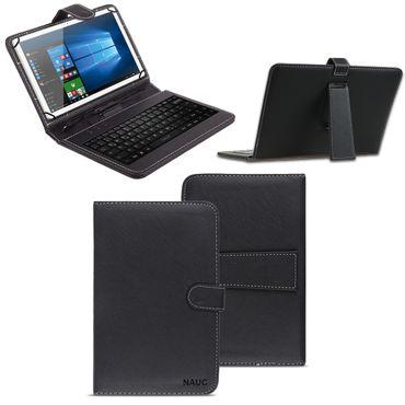 Schutzhülle Tastatur Tasche Tablet Keyboard Micro USB Hülle Cover Schutz Case  – Bild 1