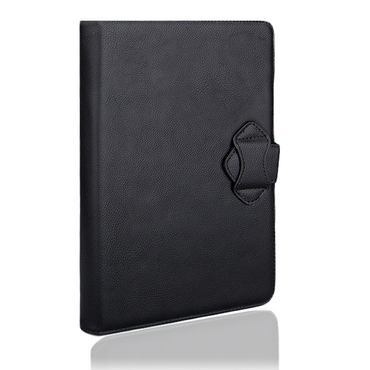 NAUC® Wireless Bluetooth V 3.0 Keyboard Tastatur kabellos Ultra für Odys Rapid 10 LTE Tablet dünn ergonomisches Design deutsche QWERTZ Tastatur mit Schutzhülle aus robustem leicht zu reinigenden Kunstleder Standfunktion – Bild 3