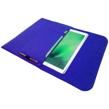 NAUC® Tasche Hülle für Apple iPad Pro Filz Sleeve Schutzhülle Tablet Case Cover Bag mit Innentaschen und sicheren Verschluss – Bild 23