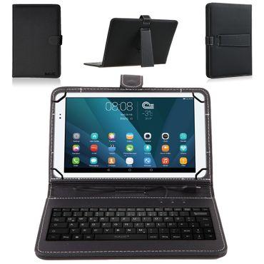 Huawei MediaPad 7 Youth Tastatur Tasche Keyboard Hülle Cover Schutzhülle Case