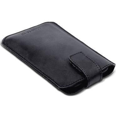 Leagoo Elite 5 Tasche Pull Tab Sleeve Hülle Leder Cover Schwarz Case Schutzhülle – Bild 6