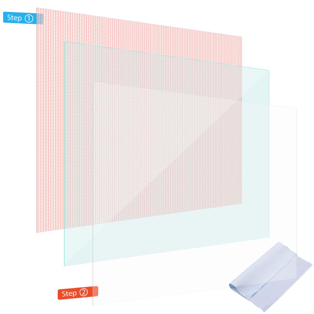 display schutz folie f r tablet bis 10 zoll schutzfolie 2x. Black Bedroom Furniture Sets. Home Design Ideas