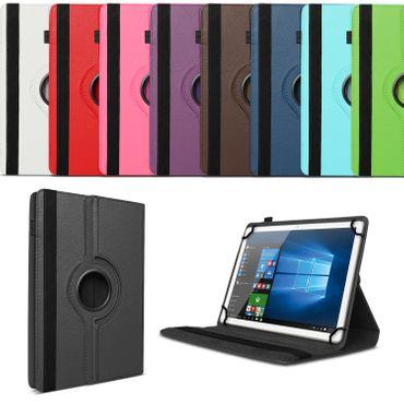 10 - 10.1 Zoll Tablet Tasche Hülle Cover 360° Drehbar Universal Schutz Case Etui – Bild 1