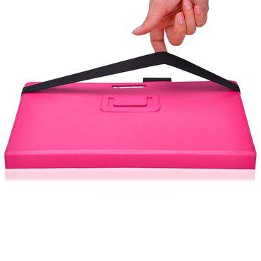 Tablet Schutzhülle Microsoft Surface Pro 4 Tasche Case Ständer Cover Etui Pink  – Bild 8