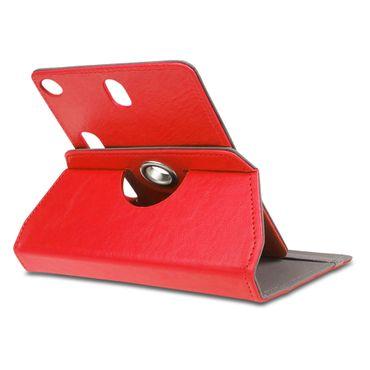 NAUC Tablet Tasche mit Ständerfunktion Hülle für Medion Lifetab Tablet von NAUC Schutztasche Schutzhülle Stand Tasche Etui Cover Case hochwertige Leder-Optik Farbauswahl 360° drehbar – Bild 13