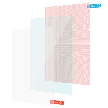 Displayschutzfolie Jay-tech TXE10DS TXE10DW XE10D Schutzfolie 2x Displayschutz  – Bild 2