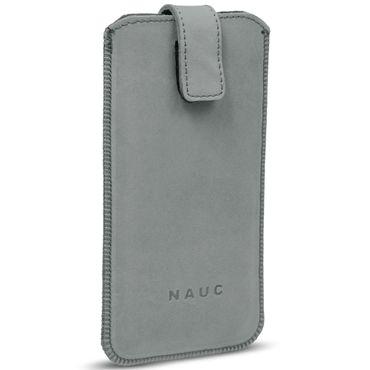 Universal Smartphone Leder Tasche Pull Tab Sleeve Hülle Schutzhülle Case Cover – Bild 18