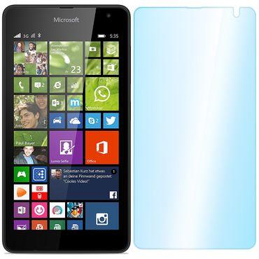 Panzerfolie Schutzglas Microsoft Lumia 535 Folie Displayschutzglas Glasfolie 9H – Bild 2