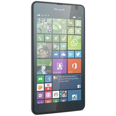 Panzerfolie Schutzglas Microsoft Lumia 535 Folie Displayschutzglas Glasfolie 9H – Bild 7